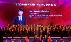 An Phat Plastic (AAA): Ông Nguyễn Lê Trung vinh dự nhận Giải thưởng Sao đỏ năm 2017