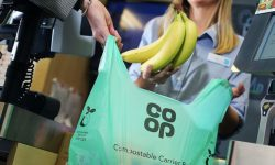 Co-op ditches plastic 'bags for life' and replaces with 10p compostable bag