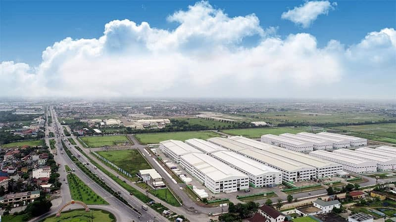 Industrial real estate is expected to bring positive revenue and profit to AAA in 2021 (Photo: An Phat Complex Industrial Park of AAA)