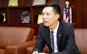 Ông Nguyễn Lê Trung – Tổng Giám đốc Công ty cổ phần Nhựa An Phát Xanh kiêm Phó Chủ tịch HĐQT An Phát Holdings